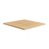 Holz Table Top - Kaffee Light Oak - 600x600x25mm
