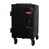 Rubbermaid Catermax 100 Insulated Food Storage Unit Black with Wheels