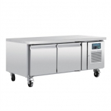 Polar U-Series Double Door Chef Base Fridge