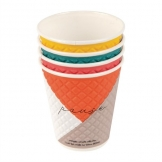 Huhtamaki Pause Disposable Coffee Cups Double Wall 225ml / 8oz (Pack of 925)