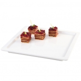 APS Apart Melamine Square Tray White 330mm