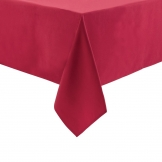 Essentials Occasions Round Tablecloth Burgundy 280cm (120 TC, Polyester)
