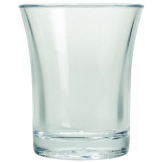 Polystyrene Shot Glasses 25ml (Pack of 100)