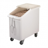 Cambro Mobile Ingredient Bin White 102Ltr