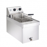 Parry Single Tank Single Basket Countertop Electric Fryer NPSF3