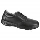 Abeba X-Light Microfiber Lace Up Safety Shoe Black 38