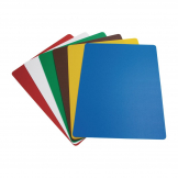 Hygiplas Colour Coded Chopping Mats Set Large (Pack of 6)