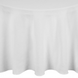 Mitre Essentials Occasions Round Tablecloth White 3300mm