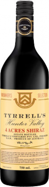 Tyrrells - 4 Acres Shiraz 2011 (75cl Bottle)