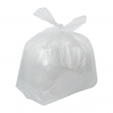 Jantex Large Light Duty Clear Bin Bags 90Ltr