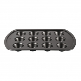 Avanti Non-Stick Mini Muffin Tray Deep 12 Cup