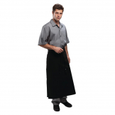 Chef Works Long Four Way Waist Apron Black