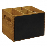 Olympia Table Organiser with Blackboard