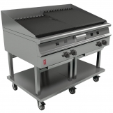 Falcon Dominator Plus Natural Gas Chargrill On Mobile Stand G31225