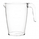 Kristallon Polycarbonate Stacking Jug 1ltr