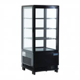 Polar Display Fridge 68Ltr Black