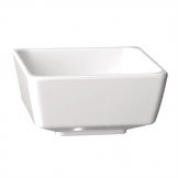 APS Float Square Dipping Bowl White 2in