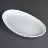 Olympia French Deep Oval Plates 304mm (Pack of 4)
