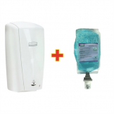 Special Offer Rubbermaid AutoFoam Dispenser and 4 Perfumed Foam Hand Soaps 1.1Ltr