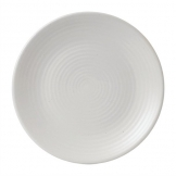 Dudson Evo Pearl Coupe Plate 228mm (Pack of 6)