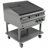 Falcon Dominator Plus Natural Gas Chargrill On Mobile Stand G3925