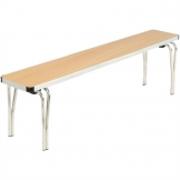 Gopak Contour Stacking Bench Beech Effect 5ft