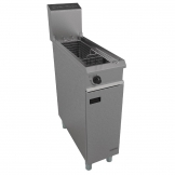 Falcon Chieftain Single Tank Single Basket Free Standing Propane Gas Fryer G1808X