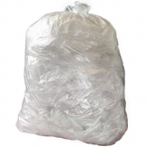 Jantex Large Heavy Duty Clear Bin Bags 120Ltr