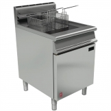 Falcon Dominator Single Tank Twin Basket Free Standing Natural Gas Fryer G3860