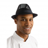 Trilby Hat Navy Blue L