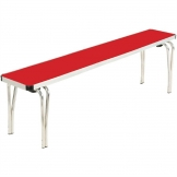 Gopak Contour Stacking Bench Red 5ft