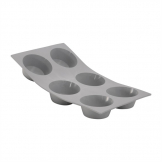 DeBuyer Elastomoule Silicone Muffin Mould 6 Cup