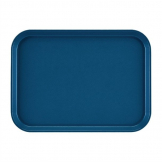 Cambro EpicTread Fibreglass Rectangular Non-Slip Tray Blue 350mm