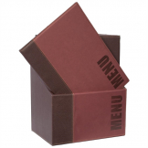 Securit Contemporary Menu Covers and Storage Box A4 Bordeaux