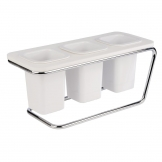 APS Triple Cutlery Holder White