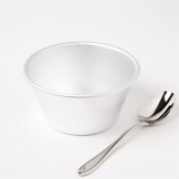 Vogue Aluminium Mini Pudding Basin 284ml