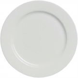 Elia Glacier Fine China Plates 210mm (Pack of 4)