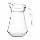 Olympia Glass Jugs 1Ltr (Pack of 6)
