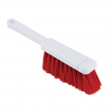 Jantex Dustpan Brush Red