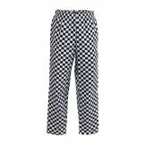 Whites Easyfit Trousers Teflon Big Black Check S