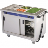 Victor Mobile Crown Bain Marie Hot Cupboard BM30MS