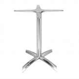 Bolero Flip Top Aluminium Table Base