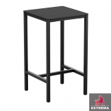 Extrema Black Square Complete  Bar Table