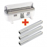 Special Offer Wrapmaster3000 Dispenser and 3 x 300m Clingfilm (M809)