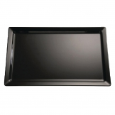 APS Pure Melamine Tray Black GN 1/4