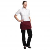 Whites Unisex Money Pocket Burgundy