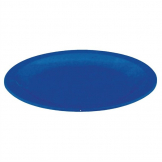 Kristallon Polycarbonate Plates Blue 230mm (Pack of 12)