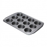 Circulon Carbon Steel Muffin Tin 12 Cup