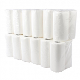 Jantex Kitchen Roll White 2-Ply 11.5m (Pack of 24)