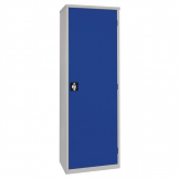 Storage Locker Blue 3 Shelves Blue